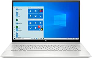 """HP - Envy 17M-CE1013DX 17.3"""" Touch-Screen Laptop - Intel Core i7 - 12GB Memory - NVIDIA GeForce MX250 - 512GB SSD + Optane - Natural Silver, Sandblasted Anodized Finish (Renewed)"""