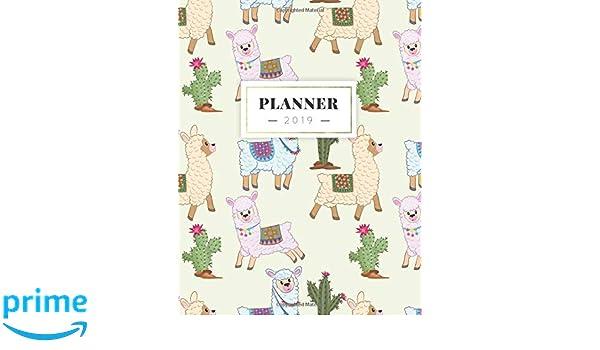 Planner 2019: 2019 Agenda Semanal Diario Organizador ...