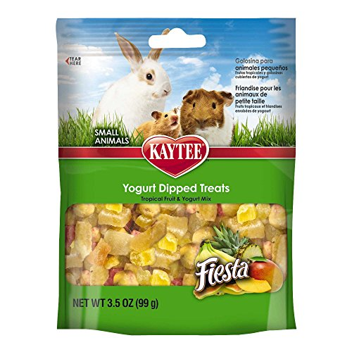 Kaytee Fiesta Tropical Fruit and Yogurt Mix Small Animal Treats 51WN2SvoabL