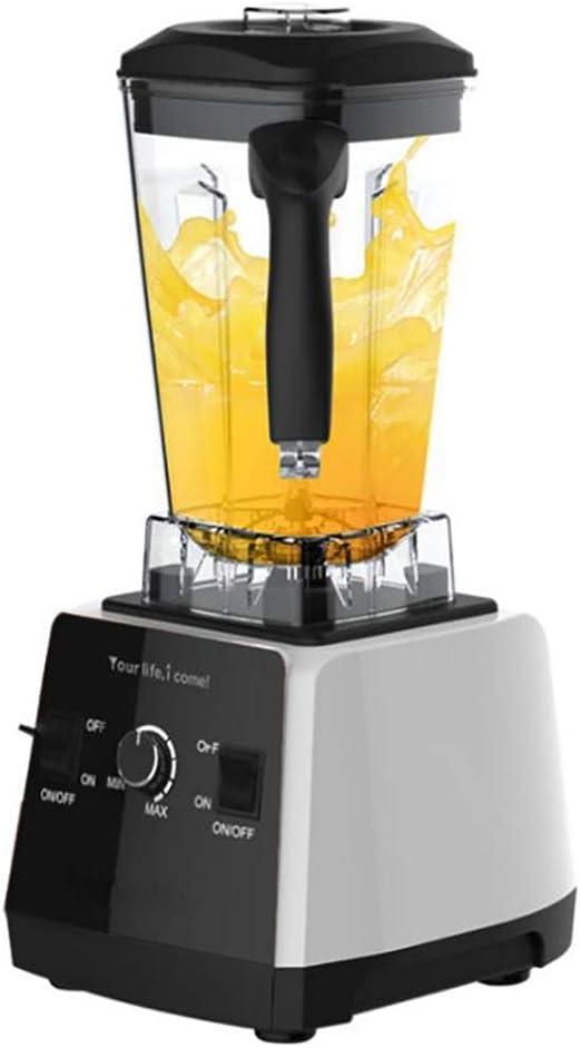 Mezclador de batidos, robot culinario, 1650 W, alta potencia ...