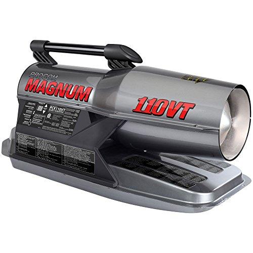 ProCom Kerosene Forced Air Heater - 80,000-110,000 BTU, Multifuel, Model# - Air Kerosene Heater Btu Forced