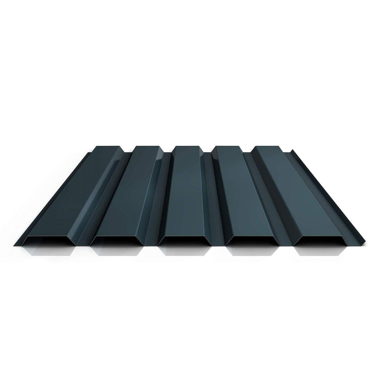 Wandblech Profil PS35//1035TW St/ärke 0,40 mm Farbe Anthrazitgrau Beschichtung 25 /µm Material Stahl Profilblech Trapezblech