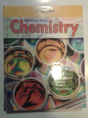 Prentice Hall Chemistry: Tennessee Student Edition