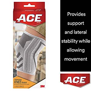 Amazon Com Ace Compressed Knee Brace With Side