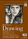 : Strathmore STR-400-3 24 Sheet No.80 Drawing Pad, 8 by 10""