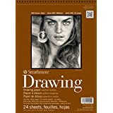 """Strathmore 400 6 400 Series Drawing, Medium Surface, 12""""X18"""" Wire Bound, 24 Sheets by Strathmore"""