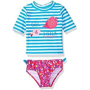 My Pool Pal Baby Girls Full Body Rashguard