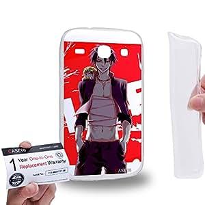 Case88 [Samsung Galaxy Core i8260 / i8262] Gel TPU Carcasa/Funda & Tarjeta de garantía - Beelzebub Tatsumi Oga Kaiser de Emperana Beelzebub IV 1693