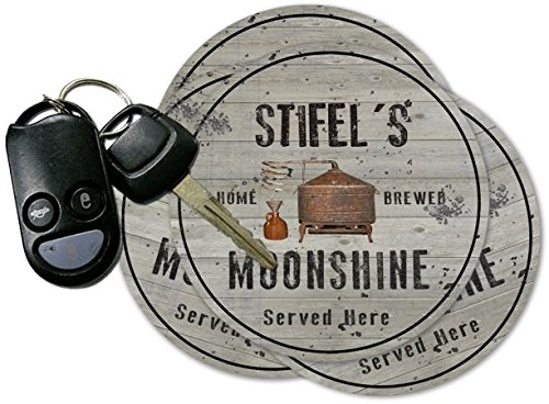 Stifels Home Brewed Moonshine Set Of 4 Coasters