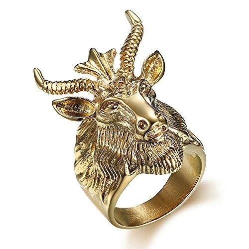 goat head ring - 9