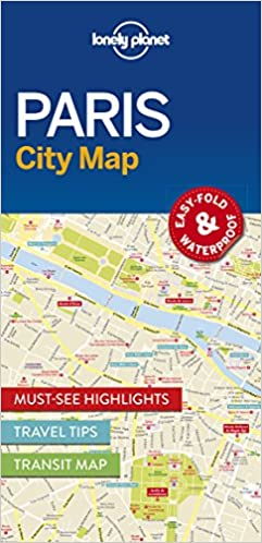 lonely planet paris city map lonely planet 9781786574152 amazoncom books