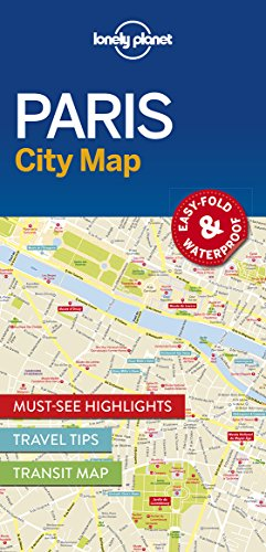 Paris Street Map - Lonely Planet Paris City Map