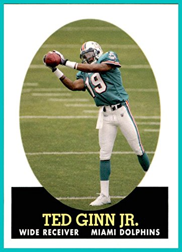 2007 Topps Turn Back The Clock #2 Ted Ginn Jr. MIAMI DOLPHINS OHIO STATE BUCKEYES