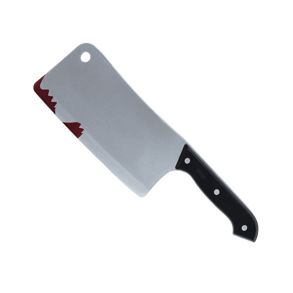 Bristol Novelty BA2235 Bloody Kitchen Cleaver, Mens, One Size