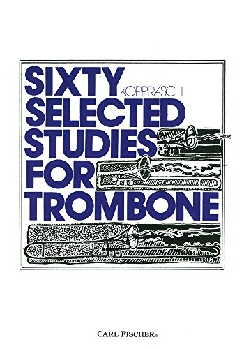 O2895 - Sixty Selected Studies for Trombone, Book 1