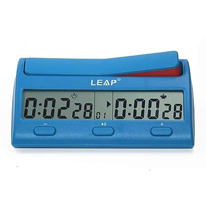 Amazon.com: Leap PQ9912 - Reloj de ajedrez digital ...
