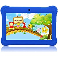 Tagital® 7' T7K Quad Core Android Kids Tablet, with Wifi and Camera and Games, HD Kids Edition with Kid Mode Pre-Installed Blue