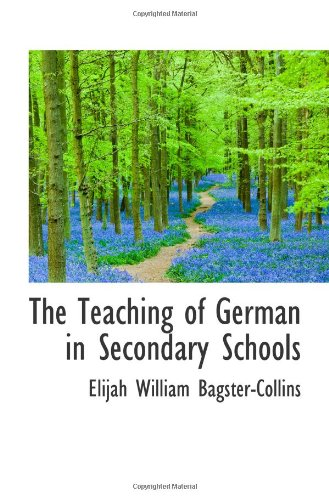 Download The Teaching of German in Secondary Schools pdf epub