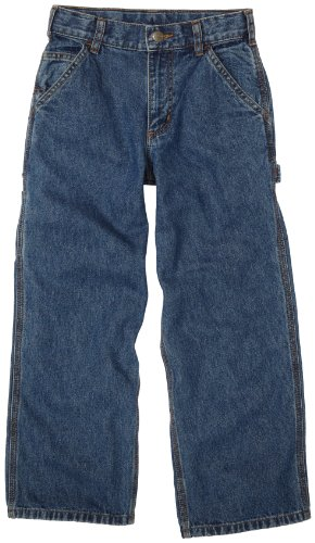 Carhartt Big Boys' Washed Dungaree,Vintage Wash,14 ()