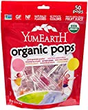 YummyEarth Organic Lollipops, Assorted Flavors, 12.3-Ounce Bags (Pack of 4)