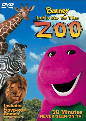 Barney Let's Go to the Zoo [Latino][DVD 5]