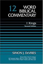 1 Kings: Second Edition (Word Biblical Commentary) (Hardcover)