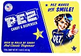 PEZ Candy and Dispenser Classic Gift Set Tin - Includes Classic Dispenser and Over 50 Rolls of Pez Candy