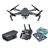 DJI Mavic Pro Refurbish Mini Portable Drones Quadcopter Bundle (Certified Refurbished) with Intelligent Battery