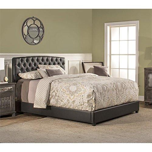 Hillsdale Bedroom Sleigh Bed - Hillsdale Furniture 1952BKR Hillsdale Hawthorne King Bed Set, Black