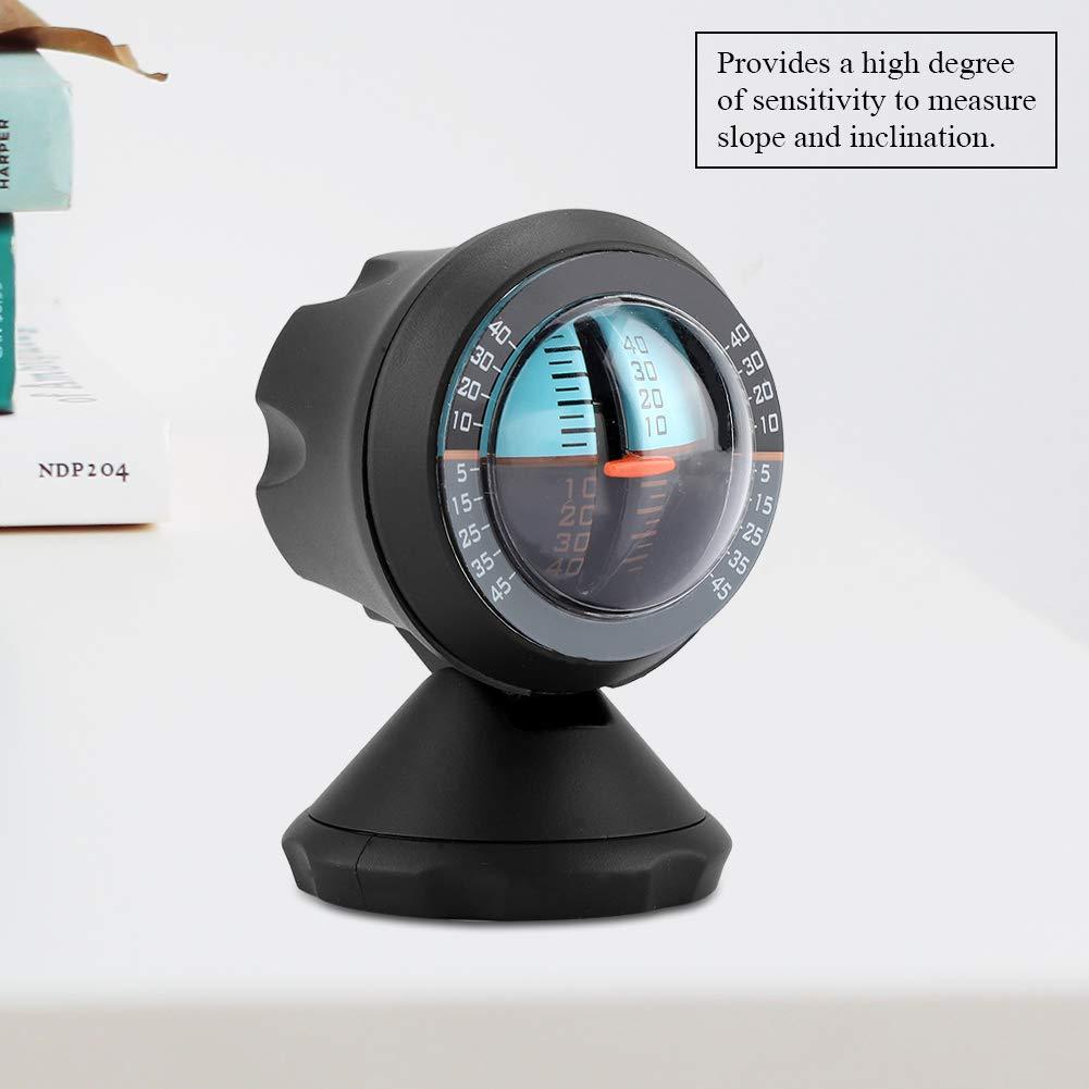 Inclin/ómetro del Coche Nivel /ángulo Indicador de Inclinaci/ón Indicador Gradiente Multifunci/ón Balanceador Medidor Conducci/ón Veh/ículos