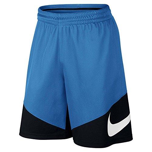 Nike Shoosh - Pantalón corto para hombre Azul (Lt Photo Blue / Black / Black / White)