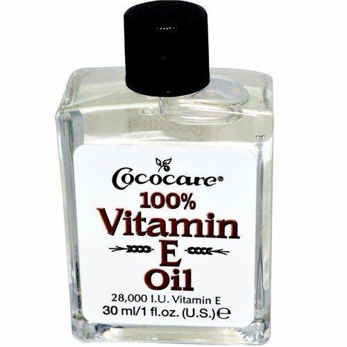 Cococare 100% Vitamin E Oil, 1 Ounce (Pack of 2)