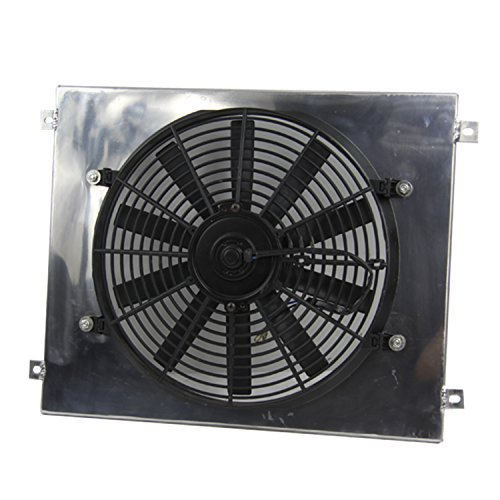 Primecooling Radiator Fan (14 inches Dia.) + Shroud for Ford Mustang Fairlane More Models 1963- 77