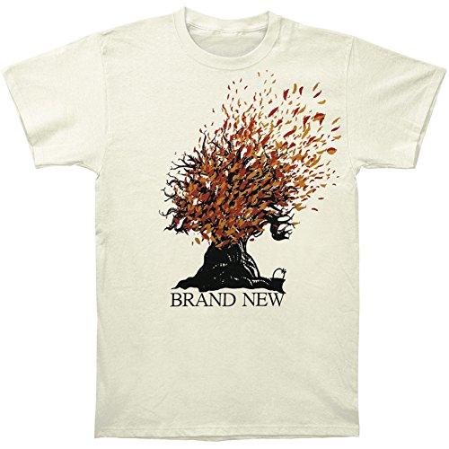 Brand New Men's Burning Oak T-shirt Small Ivory