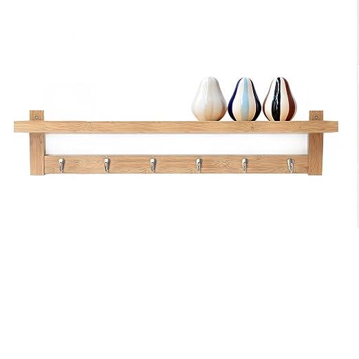 GLJJQMY - Perchero de madera para colgar ropa, sombrero ...