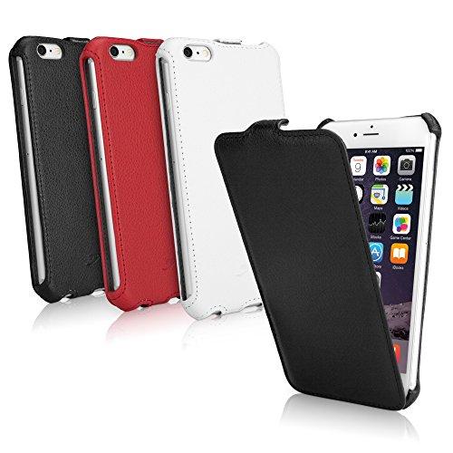 BoxWave Étui iPhone 6Plus Coque BoxWave Étui à rabat en cuir pour Apple iPhone 6Plus–slim Housse étui à rabat vertical en cuir synthétique étui en similicuir, fabriqué avec–Apple iPhone 6Plus C