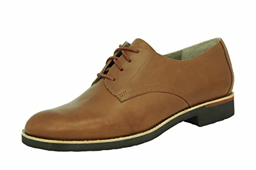 Rockport DerbyScarpe DonnaBritish Tan42 Plain Alanda Stringate vYf6ybI7mg