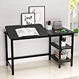 Drafting Table, LITTLE TREE Multi-Function Drawing Table with Adjustable Tiltable Stand Table Board