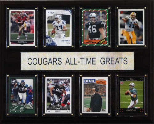 NCAA Football BYU Cougars All-Time Greats Plaque
