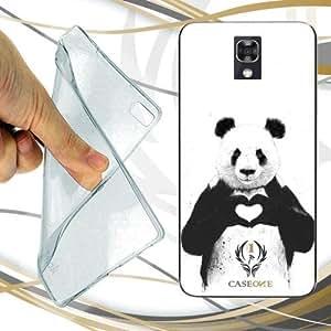 CUSTODIA COVER CASE PANDA LOVE PER LG X SCREEN