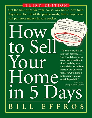 How to Sell Your Home in 5 Days: Third - Services To Sell How
