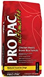 Midwestern Pet Foods PRO PAC Ultimates Chicken Meal and Brown Rice Natural Formula Dry Dog Food, 28-Pound Bag