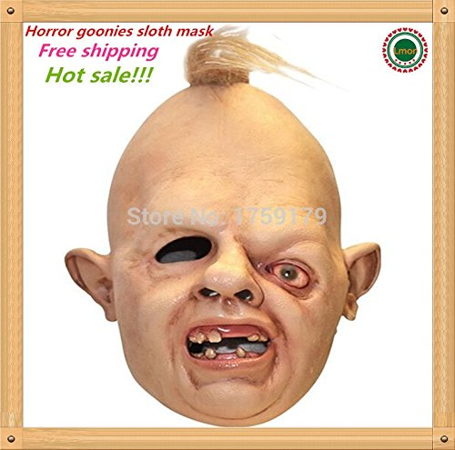 2229 NEWHot sale Details about Halloween Costume Sloth Goonies Movie Horror Dress Up Latex Party Masks