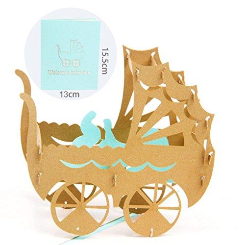C # Pop Up Calendar - Gbell 3D Pop Up Handmade Assorted Greeting Cards,Wedding Lover Anniversary Assortment (C)