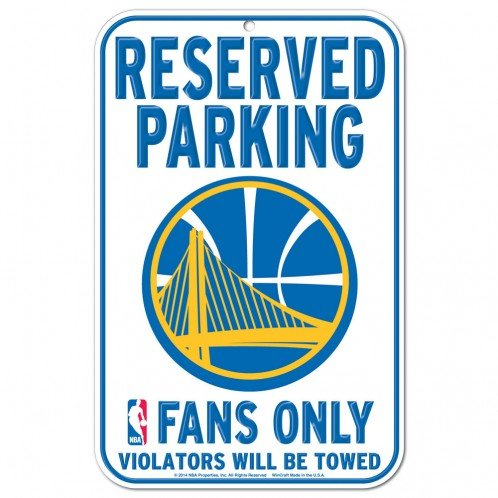 National Basketball Association 11-Inch-by-17-Inch Parking Sign, Golden State Warriors by WinCraft
