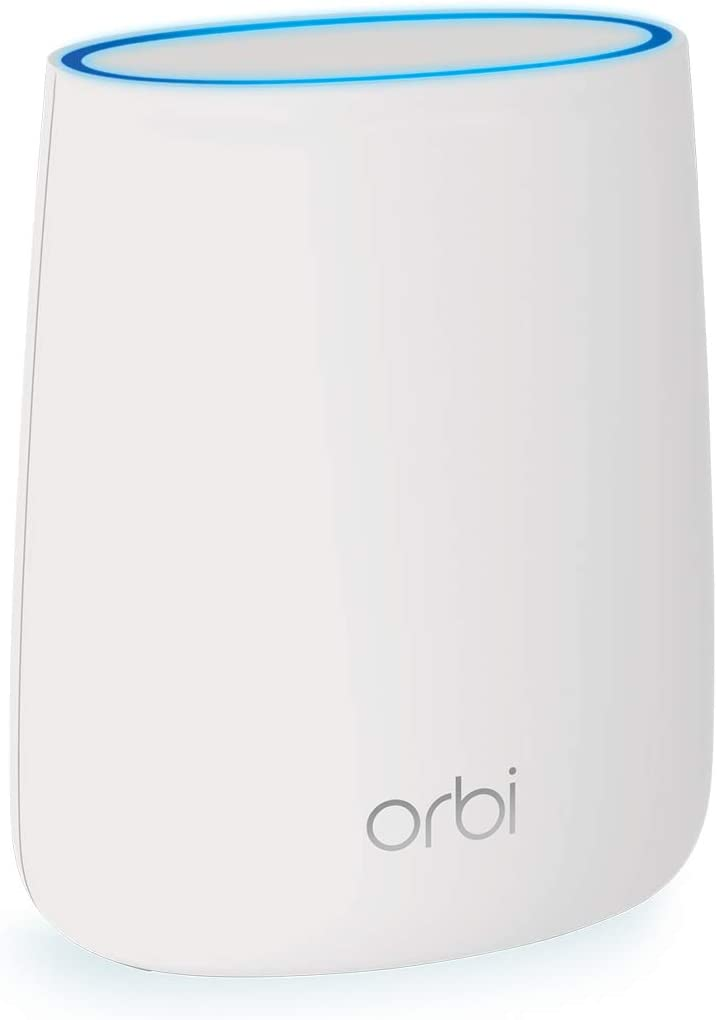 NETGEAR Orbi Mesh WiFi Add-on Satellite - Works with Your Orbi Router, add up to 2,000 sq. ft, speeds up to 2.2Gbps (RBS20) (RBS20-100NAS)