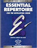 Essential Repertoire Developing Mixed Choir (Essential Elements for Choir)