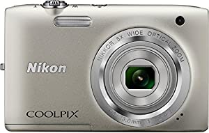 Nikon Coolpix S2800 20.1 MP Point and Shoot Digital Camera with 5x Optical Zoom