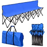 Giantex Portable Folding 6 Seats Chair Sideline
