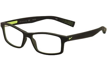 NIKE Eyeglasses 4259 001 Black/Volt 52MM